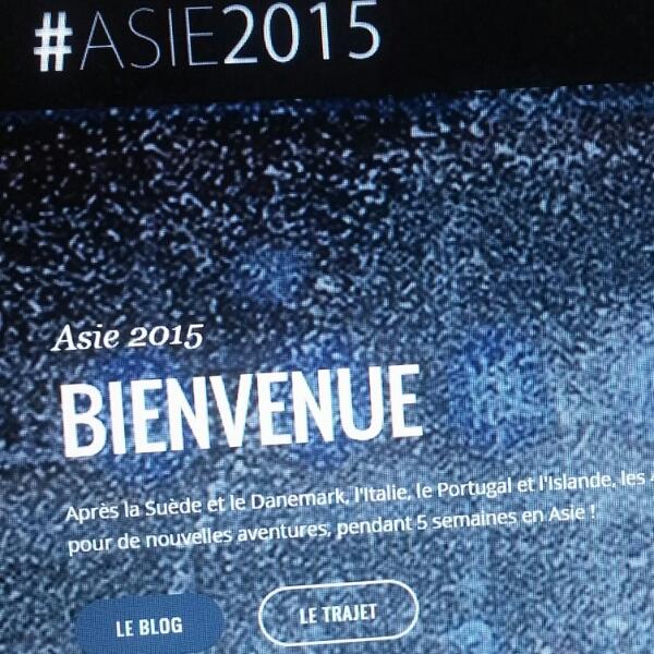 Lancement #Asie2015